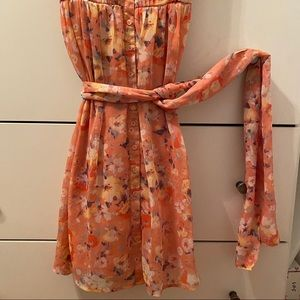 Floral Dress. LC Lauren Conrad. Size 2